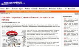 S-a votat: Viața liberă, cel mai bun ziar local de curățat cartofi pe el