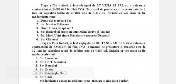 Pomană de 3 milioane de euro pentru Vega 93 și Tancrad, de la primărie