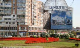 Galați - orașul roșu, acum și cu floricele roșii