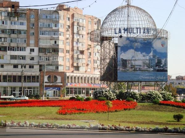 Galați – orașul roșu, acum și cu floricele roșii