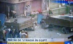 Revoluția boschetarilor din Egipt care se bat cu pietre