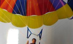 Parașutele - sportul preferat de Florin Pîslaru