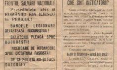 Poză cu certificatul de naștere al orașului roșu Galați