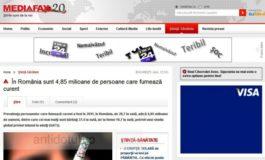 Deontologii de la Mediafax  fumează curent