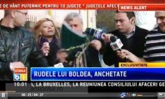 Video jenant cu ziariștii de tip hienă și tatăl lui Boldea