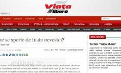 Viața liberă - ziarul comunist neasumat nici măcar de porumbeii lui Băilă
