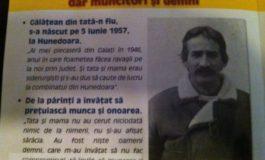 """""""Gălățean din tată-n fiu, s-a născut pe 5 iunie 1957, la Hunedoara"""""""