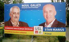 Știrbul USL: dr. Bacalbașa nu are dinți în afișele electorale!