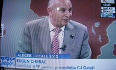 Ce ziarist fantomă i-a ținut echilibrul lui Chebac  la o emisiune electorală