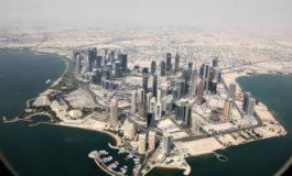 Cam așa arată centrul orașului Doha, capitala Qatarului