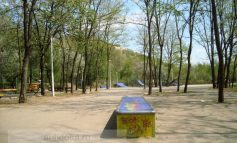 Parcul lui Ciumacenco a chelit de tot