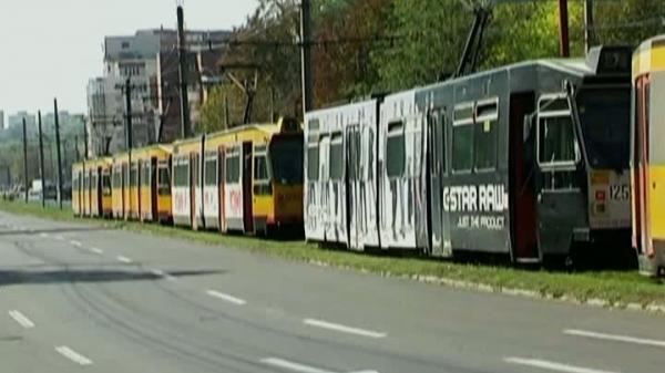 Genica Totolici știe ce spune: unul dintre tramvaie a încercat o depășire