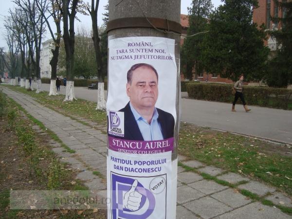 Aurel Stancu, candidatul boschetar