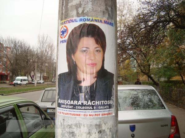 Tanti Anișoara Răchitosu este rugată să se lase de politică