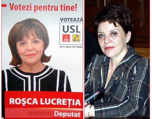 Lucreția Roșca, candidatul căruia nici Photoshopu' nu a avut ce să îi facă