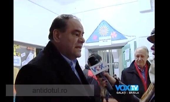 Catindatu' Aurel Stancu a bruscat o mahalagioaică de la Vox TV (video)