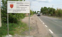 Acest drum a fost lăsat înzăpezit de președintele Eugen Chebac