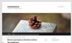 Viceprimarul Ciumacenco și-a făcut blog