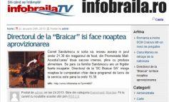 Ziariștii de la InfoBrăila suferă de retard sever