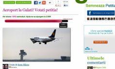Fiți retardați și votați pe Facebook că vreți aeroport la Galați
