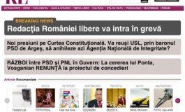 Ziariștii lui Adamescu au intrat astăzi în grevă, pentru că nu și-au primit banii