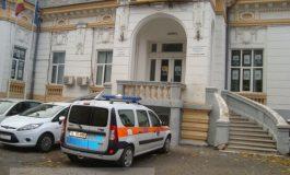 La sediul PNL Galați a venit ambulanța