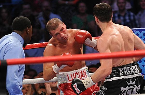 Secunda în care Lucian Bute a fost spulberat din box