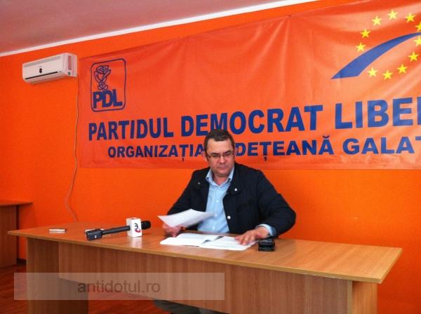 Șeful PDL Doruleț Resmeriță îl toarnă pe Marius Stan cu informații servite de PSD