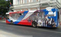 Primarul Stan ar face bine să dea jos bannerele cu Oțelul de pe autobuze