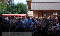 Marius Stan și Eugen Zaharia s-au îngrămădit să taie panglica la noua Hală din 39