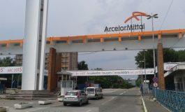 Dacă intri cu mașina în ArcelorMittal Galați ești legitimat ca atunci cînd treci granița