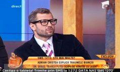 Dr. Doboș revine în viața publică ca măscărici în studioul lui Capatos (foto)