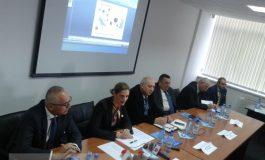 Gargară oficială despre Dunăre, la Galați, cu ministrul Ramona la prezidiu