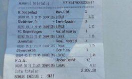 Un gălățean a cîștigat două salarii la pariuri, cu 1 leu investiție (foto)