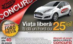 """Viața liberă, reclamată pentru concursul """"Un Ford cu 25 de lei"""""""
