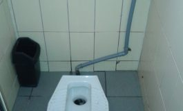 WC cu tălpi, Galați, 2014 (foto)