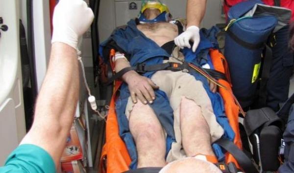 Accident de muncă înfiorător, pe un șantier al firmei Tancrad