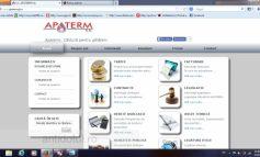 Apaterm are site nou și ne furnizează căldură pe internet