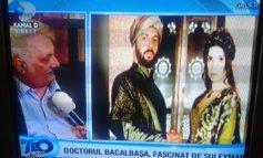 "Nicolae Bacalbașa, în direct la Kanal D: ""Suleyman, dragostea mea!"" (foto)"