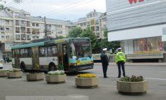 Fetița primarului Marius Stan, lovită de un troleibuz în centrul orașului