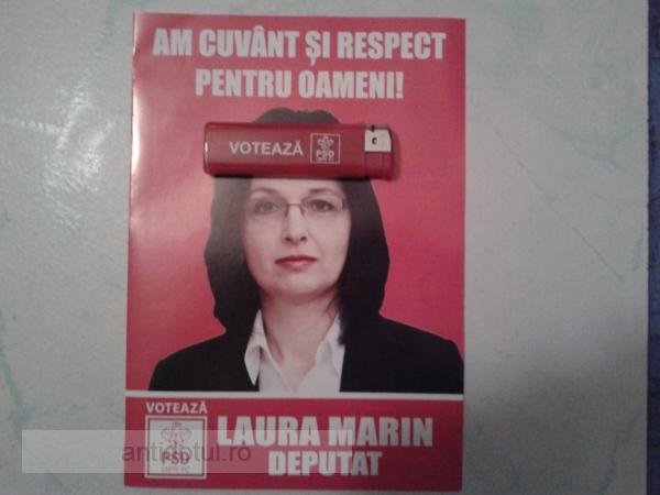 "Cazul ""Bricheta"" înviat de catindata Laura Marin de la PSD Galați (foto)"