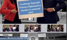 """Viziunea diplomatică a tinerilor în contextul ONU, la Universitatea """"Danubius"""" (P)"""