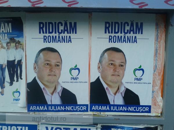 Mesajul neocomunist al candidatului PMP Galați, Iulian Aramă