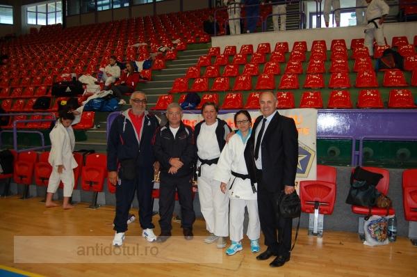 O studentă din Galați a obținut medalia de argint la judo