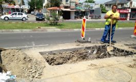 Duios, Apă Canal ciuruiește străzile în continuare