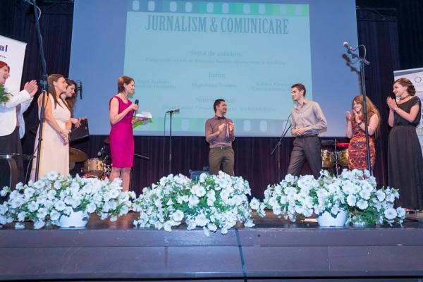 """Studentul anului 2014 la categoria Jurnalism și Comunicare este de la """"Danubius"""" (P)"""
