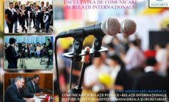 """Comunicare și Relații Internaționale. Alege Universitatea """"Danubius"""" (P)"""