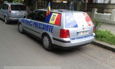 George Codreanu l-a dat jos pe Băsescu de pe mașină (foto)