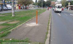 Poliția Rutieră Galați instalează semne de circulație pentru idioți (foto)
