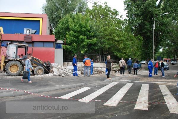 Primăria Galați a demarat licitația pentru studiul de fezabilitate necesar trotuarului din față de la Bingo